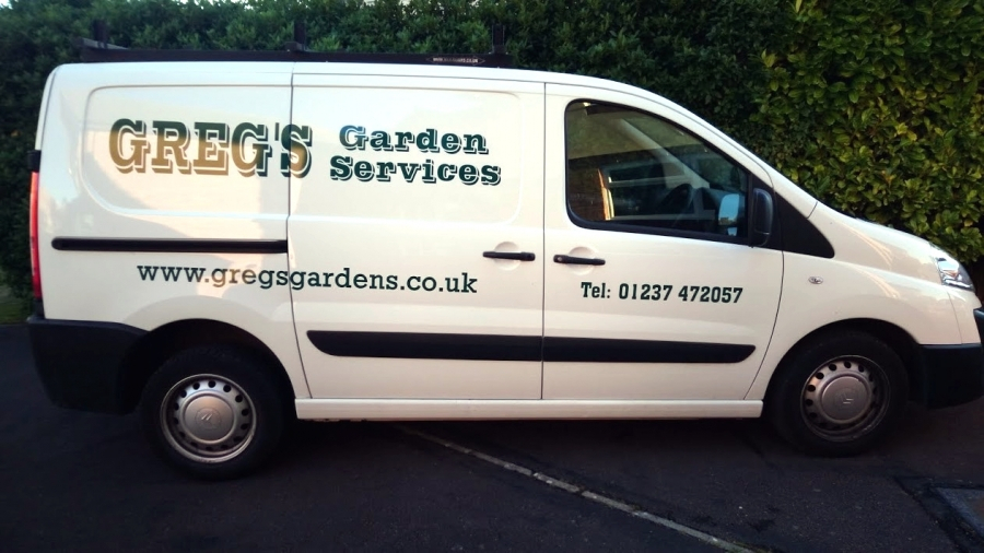 Gregs Garden Services Van