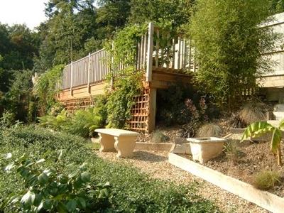 Landscape garden decking patios paving bideford for Redesign your garden